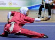 قهرمانی بانوان ووشوکار سبزوار در مسابقات استان