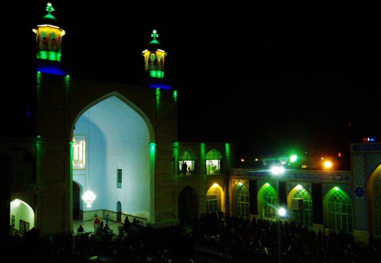 تصویری دیدنی از محل تاریخی مسجد جامع سبزوار